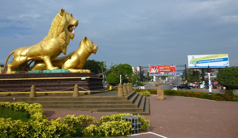 Sihanoulville City - Lions
