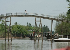 An Binh island of Vinh Long province